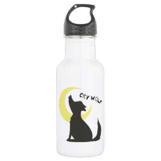Cry Wolf 18oz Water Bottle