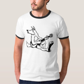 Cry Wolf Band Shirt b/w