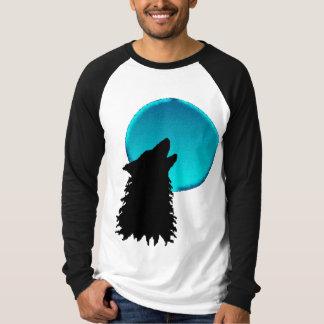 Cry Wolf Long Sleeve Tee Shirts