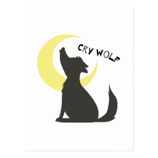 Cry Wolf Post Cards