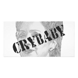 Crybaby - Hillary Clinton Card