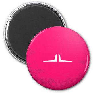 Crybaby Mustache 2 Inch Round Magnet