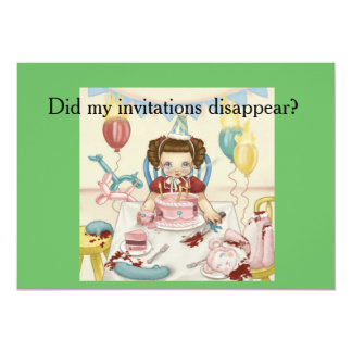 Crybaby Pity Party Postcard! Card