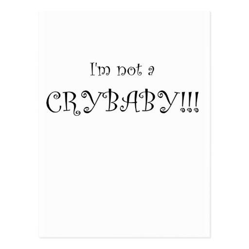 crybaby postales