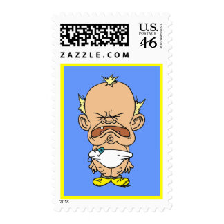 Crybaby stamp