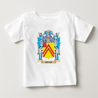 Cryer- Coat of Arms - Family Crest T Shirts