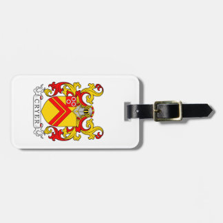 Cryer Coat of Arms Tag For Luggage