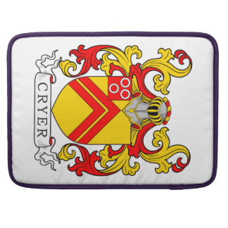 Cryer Coat of Arms MacBook Pro Sleeve