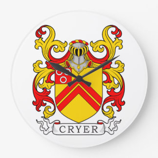 Cryer Coat of Arms Wall Clock