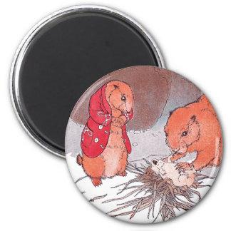 Crying Baby Prairie Dog Magnet
