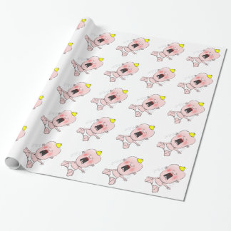 Crying Baby Wrapping Paper