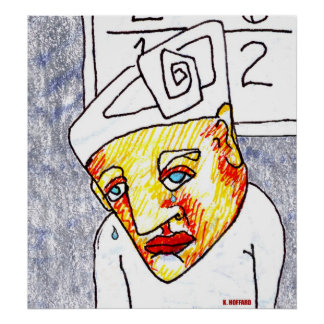 Crying Boy Poster