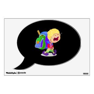 Crying Boy Wall Sticker