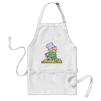 Crying Chef Adult Apron