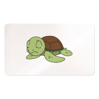 Crying Cute Baby Turtle Tortoise Greeting Card