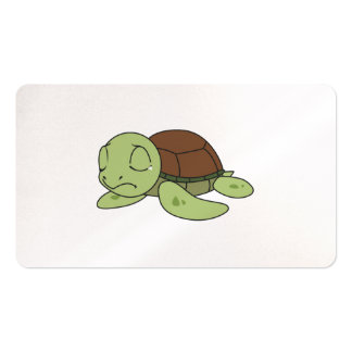 Crying Cute Baby Turtle Tortoise Invitation Stamps Business Card