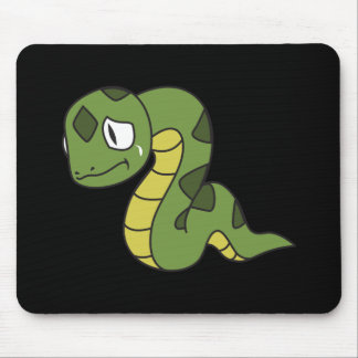 Crying Cute Green Snake Greeting Cards Mugs Pin Mouse Pad