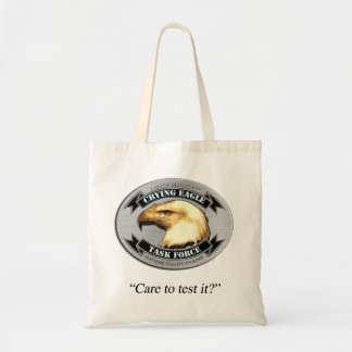 Crying Eagle Task Force Budget Tote Bag