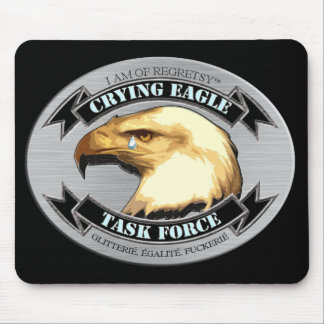 Crying Eagle Task Force Mouse Pad