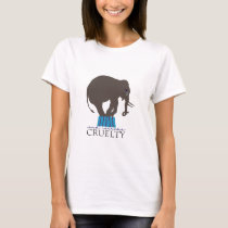 Crying Elephant: End Circus Cruelty T-Shirt
