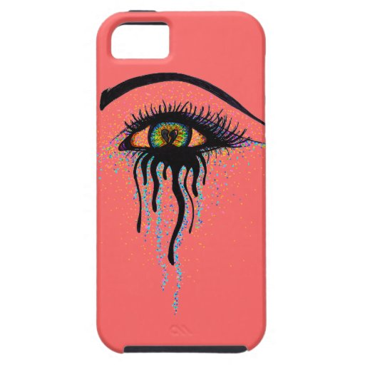 Crying Eye iPhone 5/5S Cover