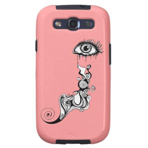 Crying Eye - Swirls Samsung Galaxy SIII Covers