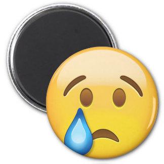 Crying Face Emoji Magnet