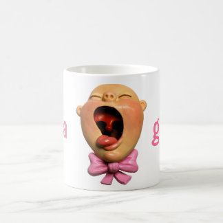 Crying Girl Baby Coffee Mug