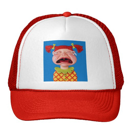 Crying Girl Hat