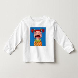 Crying Girl Toddler T-shirt