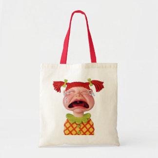 Crying GirlW Tote Bag
