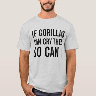 crying gorillas T-Shirt