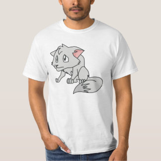 Crying Gray Young Wolf Pup Shirt Hoodie Polo