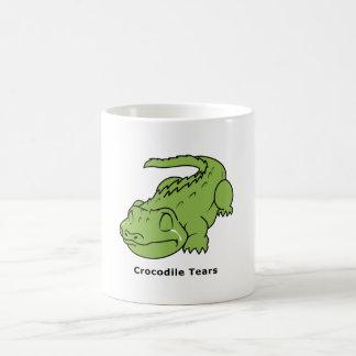 Crying Green Crocodile Tears Card Magnet Pin Magic Mug