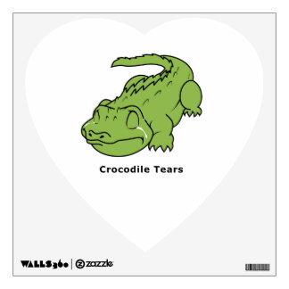 Crying Green Crocodile Tears Card Magnet Pin Wall Skins