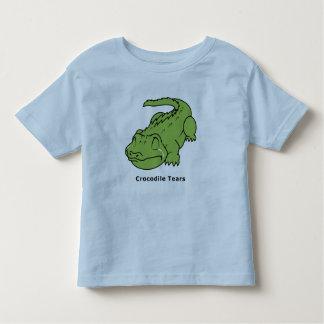 Crying Green Crocodile Tears Kids Shirt Boy Girl