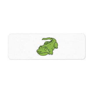 Crying Green Crocodile Tears Mug Bag Button Pin Label