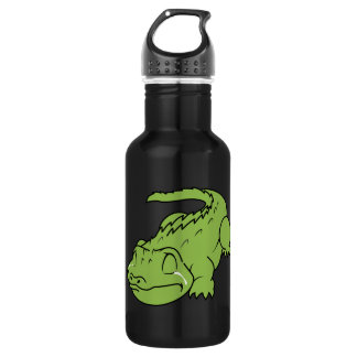 Crying Green Crocodile Tears Mug Button Pillow Pin