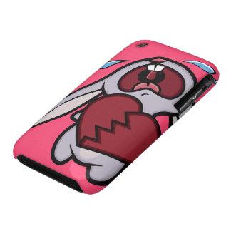 Crying Heart Broken Cartoon Bunny iPhone 3G Case iPhone 3 Case-Mate Cases