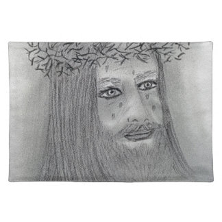 Crying Jesus Cloth Placemat