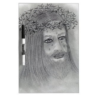 Crying Jesus Dry-Erase Board