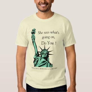 Crying Liberty Shirts