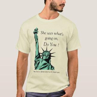 Crying Liberty T-Shirt