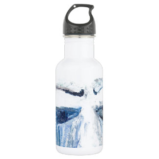 Crying Man (face portrait expressionism ) Water Bottle