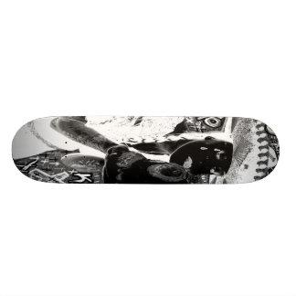 crying mexicana kisses skull skateboard deck