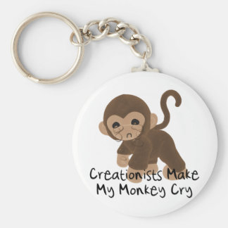 Crying Monkey Key Chains