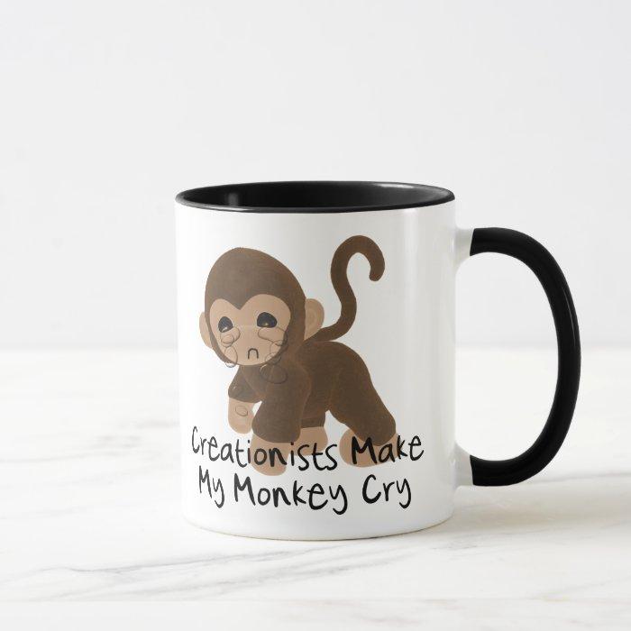 Crying Monkey Mug