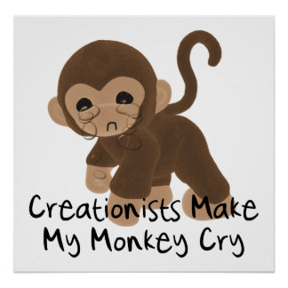 Crying Monkey Posters