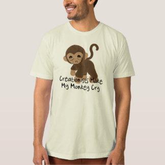 Crying Monkey Shirts