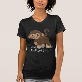 Crying Monkey T Shirt